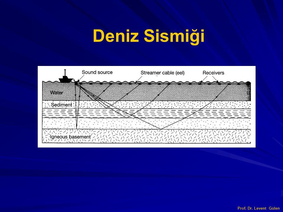Deniz Sismiği Prof. Dr. Levent Gülen