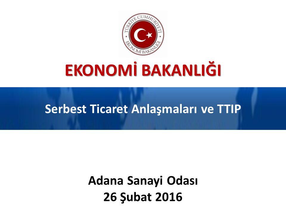 Serbest Ticaret Anlaşmaları ve TTIP