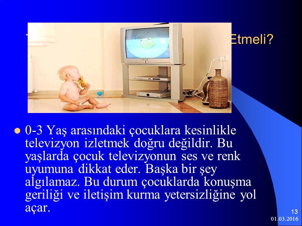 Televizyon İzlerken Nelere Dikkat Etmeli