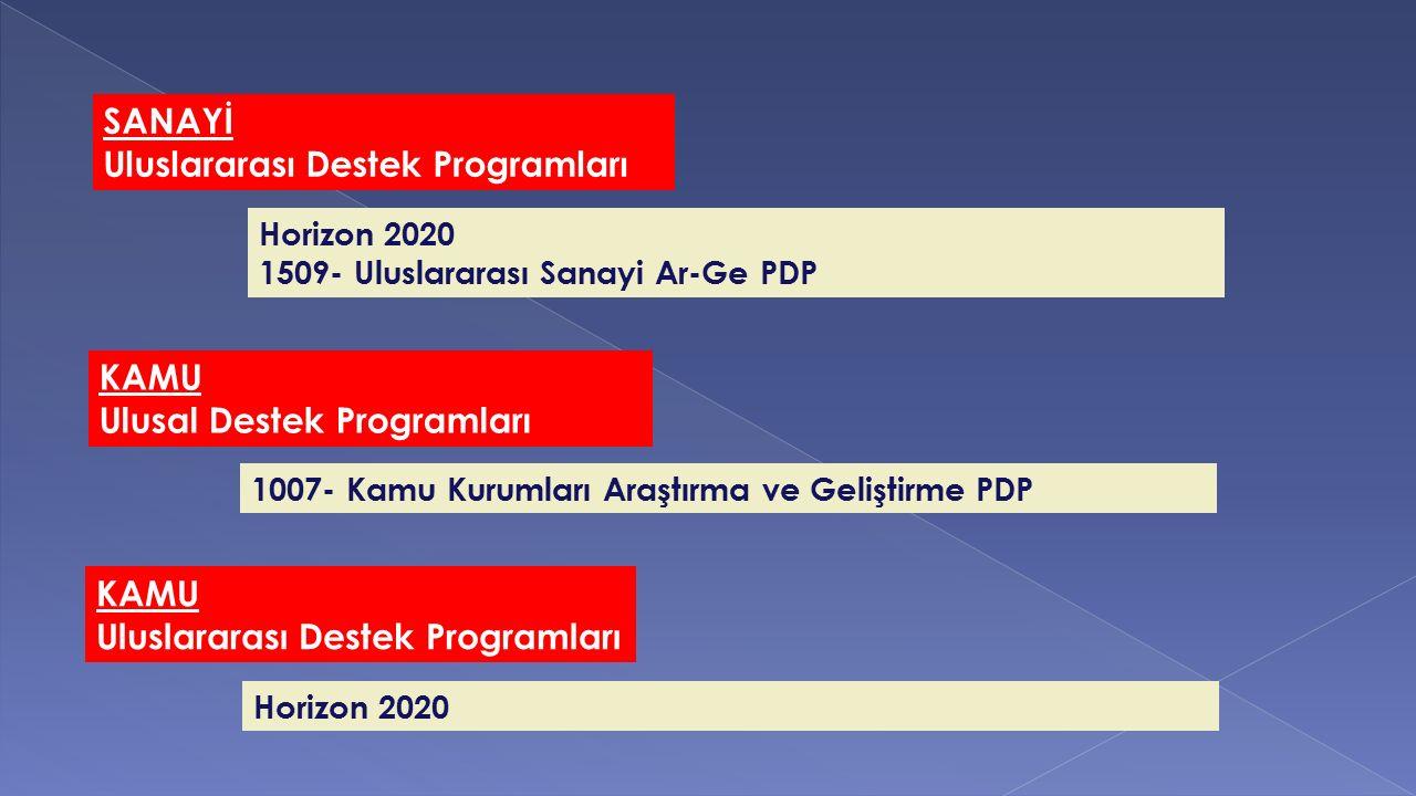 Uluslararası Destek Programları