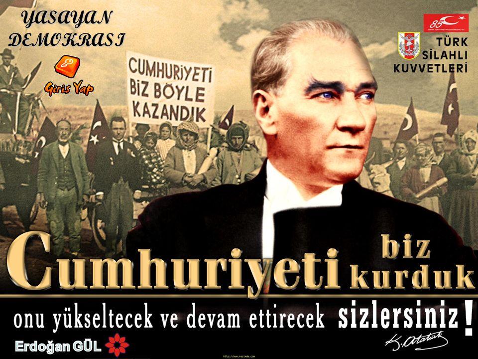 YASAYAN DEMOKRASI Erdoğan GÜL