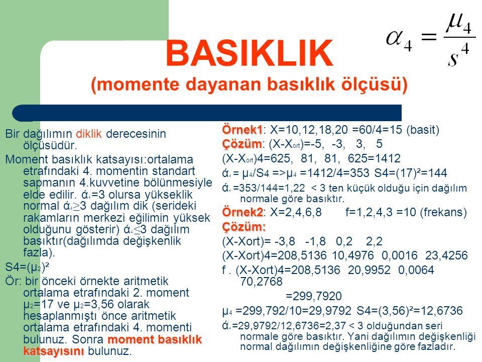 BASIKLIK (momente dayanan basıklık ölçüsü)