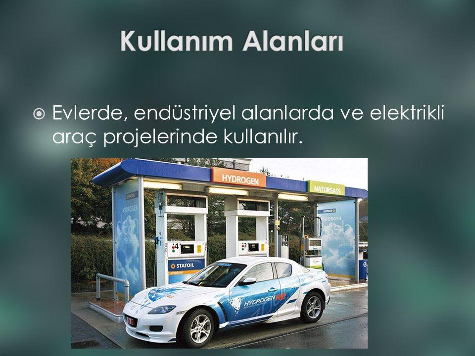 Kullanım Alanları Evlerde, endüstriyel alanlarda ve elektrikli araç projelerinde kullanılır.