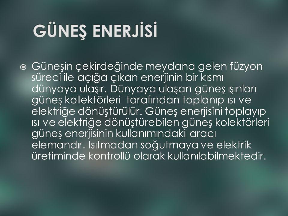 GÜNEŞ ENERJİSİ