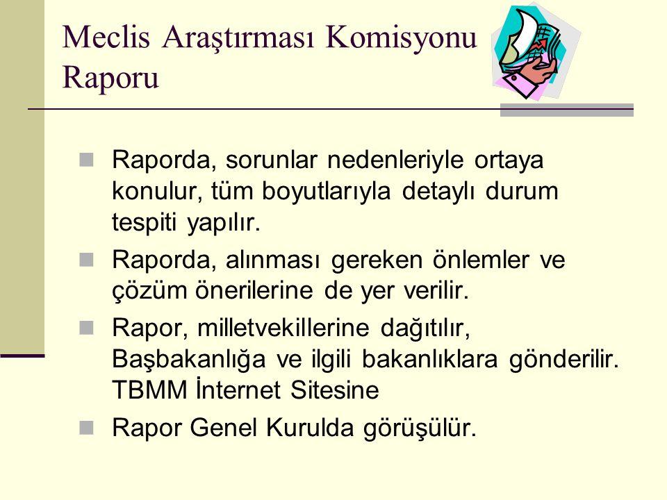 Meclis Araştırması Komisyonu Raporu