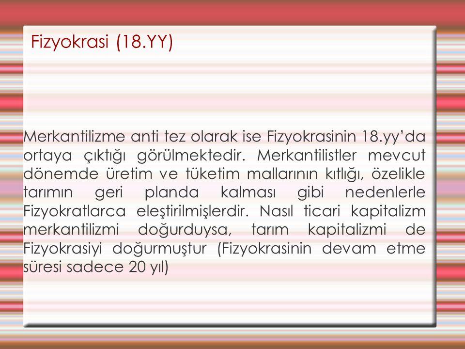 Fizyokrasi (18.YY)