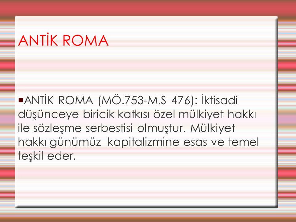 ANTİK ROMA