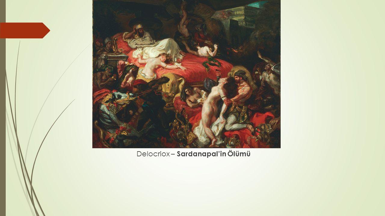 Delocriox – Sardanapal'in Ölümü