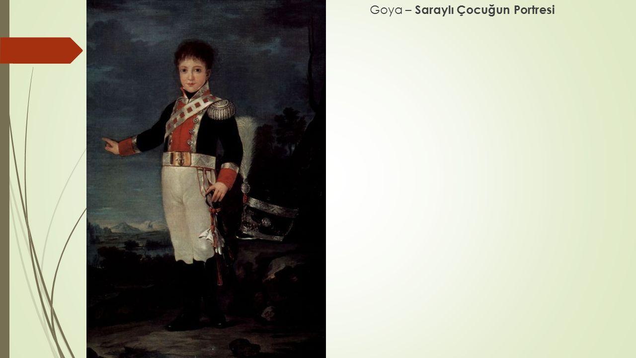 Goya – Saraylı Çocuğun Portresi