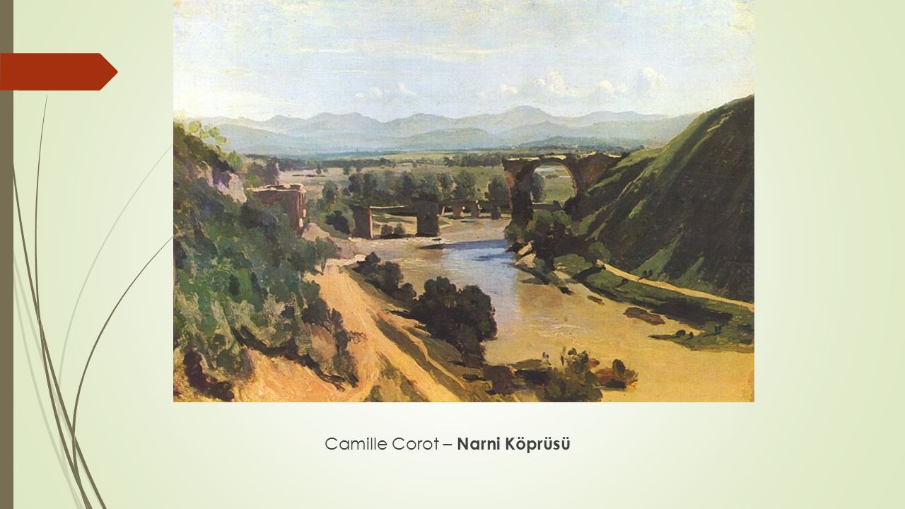Camille Corot – Narni Köprüsü