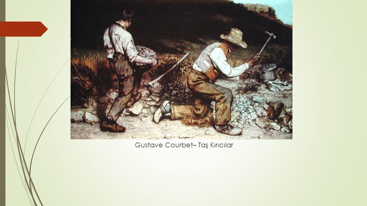 Gustave Courbet– Taş Kırıcılar