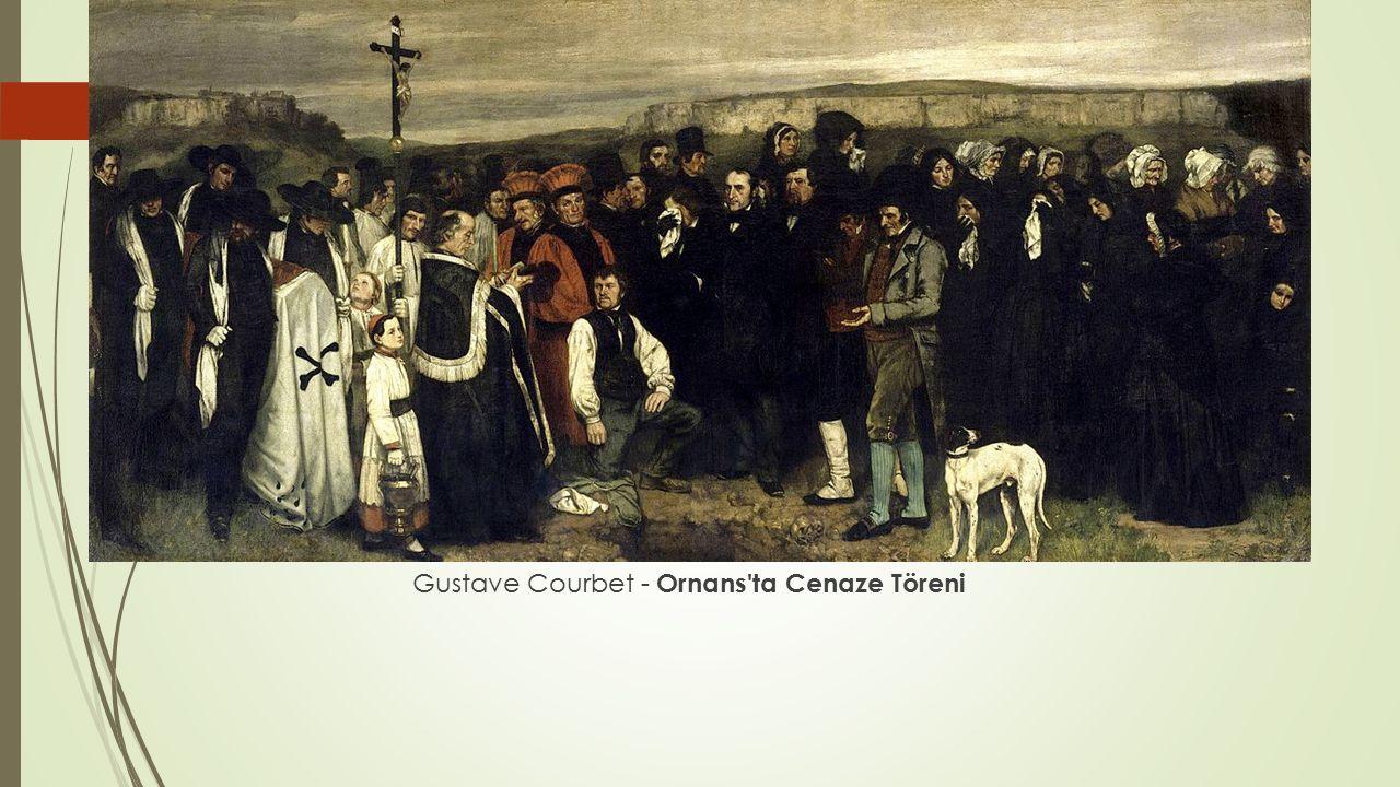 Gustave Courbet - Ornans ta Cenaze Töreni