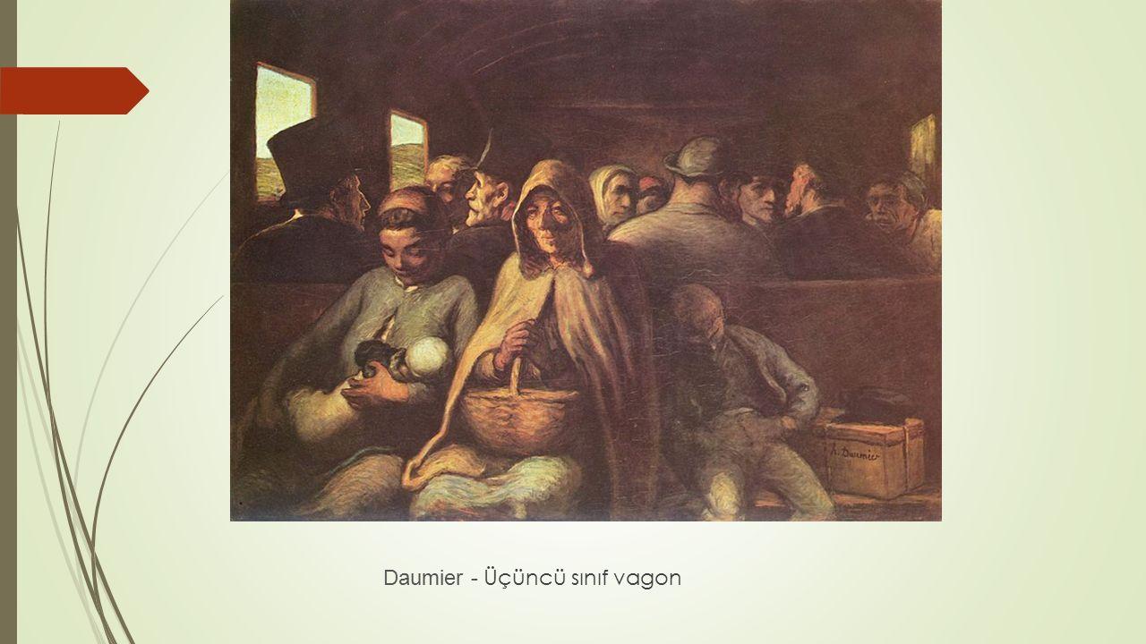 Daumier - Üçüncü sınıf vagon