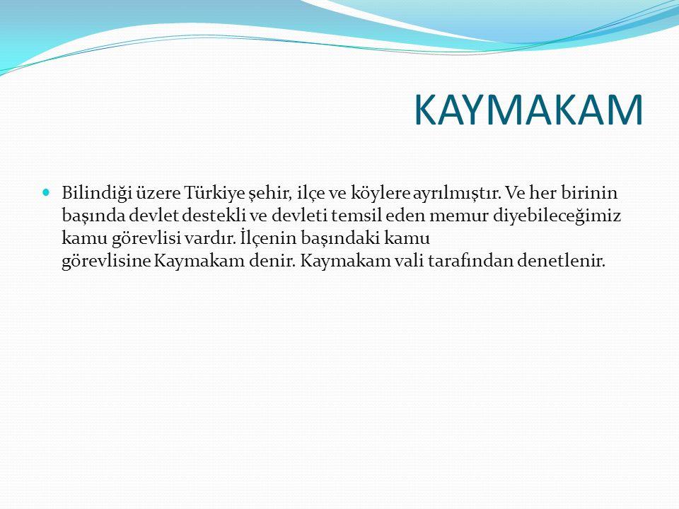 KAYMAKAM