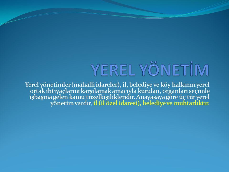 YEREL YÖNETİM