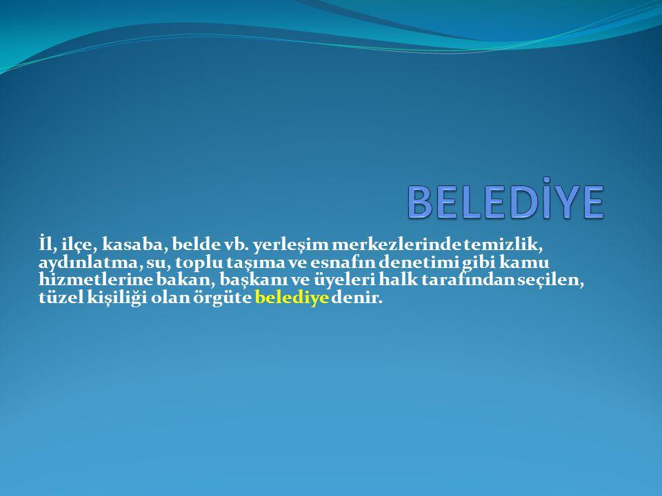 BELEDİYE