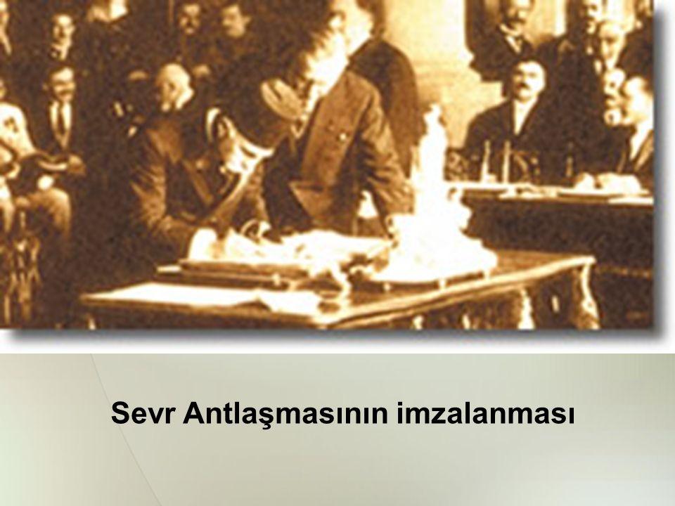 Sevr Antlaşmasının imzalanması