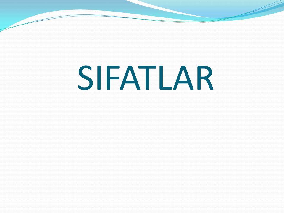 SIFATLAR