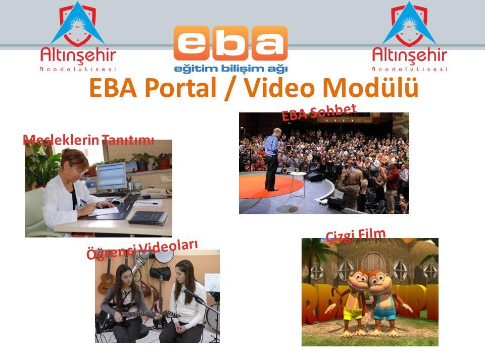 EBA Portal / Video Modülü
