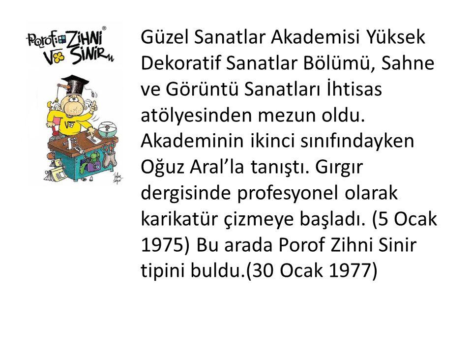 Güzel Sanatlar Akademisi Yüksek Dekoratif Sanatlar Bölümü, Sahne ve Görüntü Sanatları İhtisas atölyesinden mezun oldu.