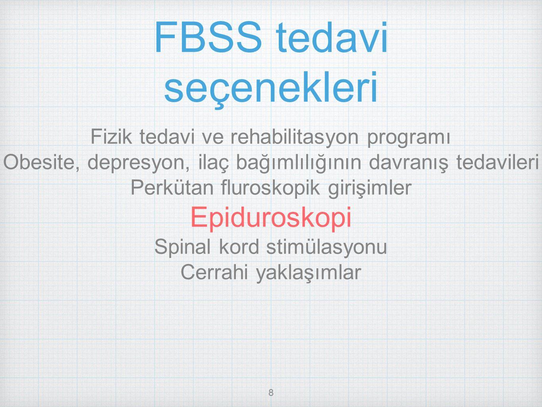 FBSS tedavi seçenekleri
