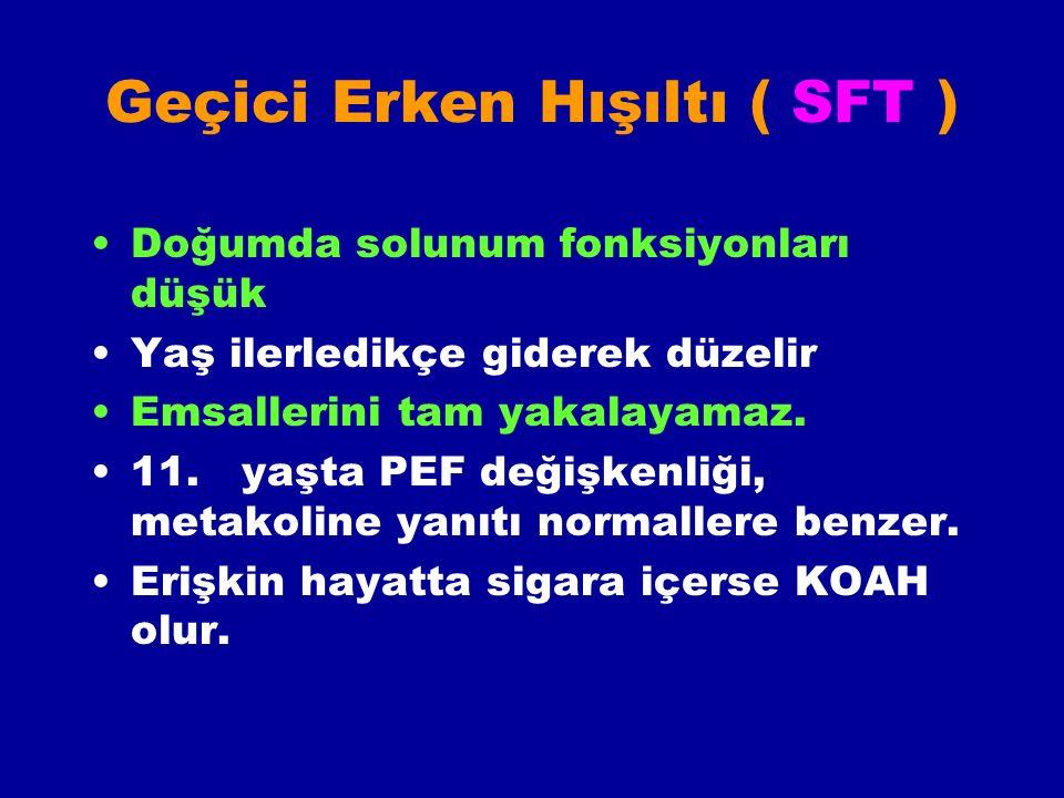 Geçici Erken Hışıltı ( SFT )