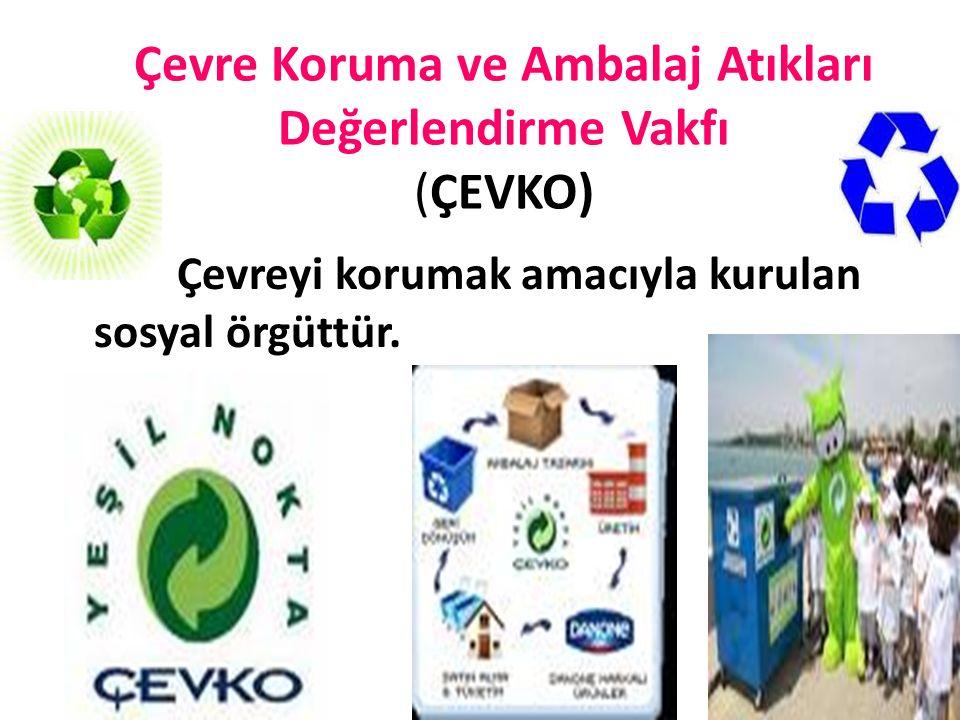 Çevre Koruma ve Ambalaj Atıkları Değerlendirme Vakfı (ÇEVKO)
