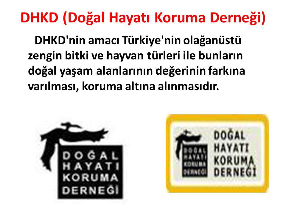 DHKD (Doğal Hayatı Koruma Derneği)