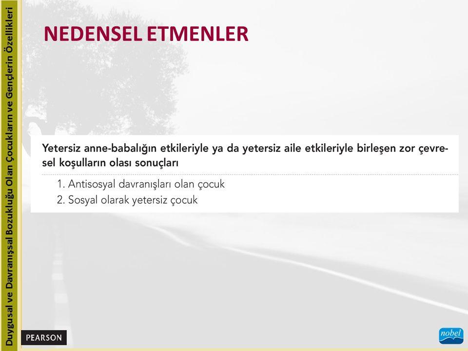 NEDENSEL ETMENLER