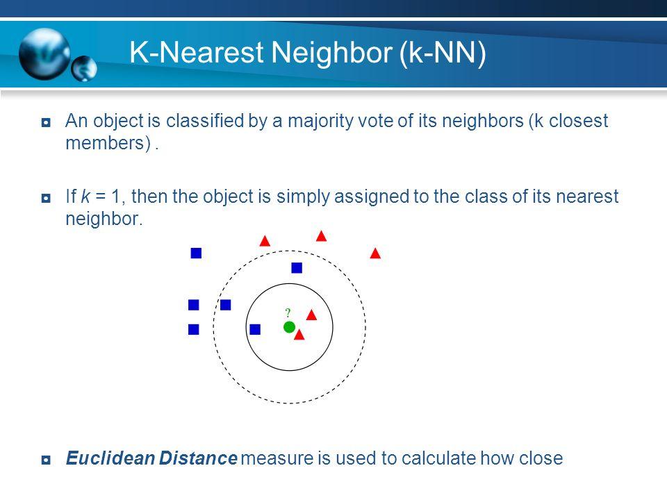 K-Nearest Neighbor (k-NN)