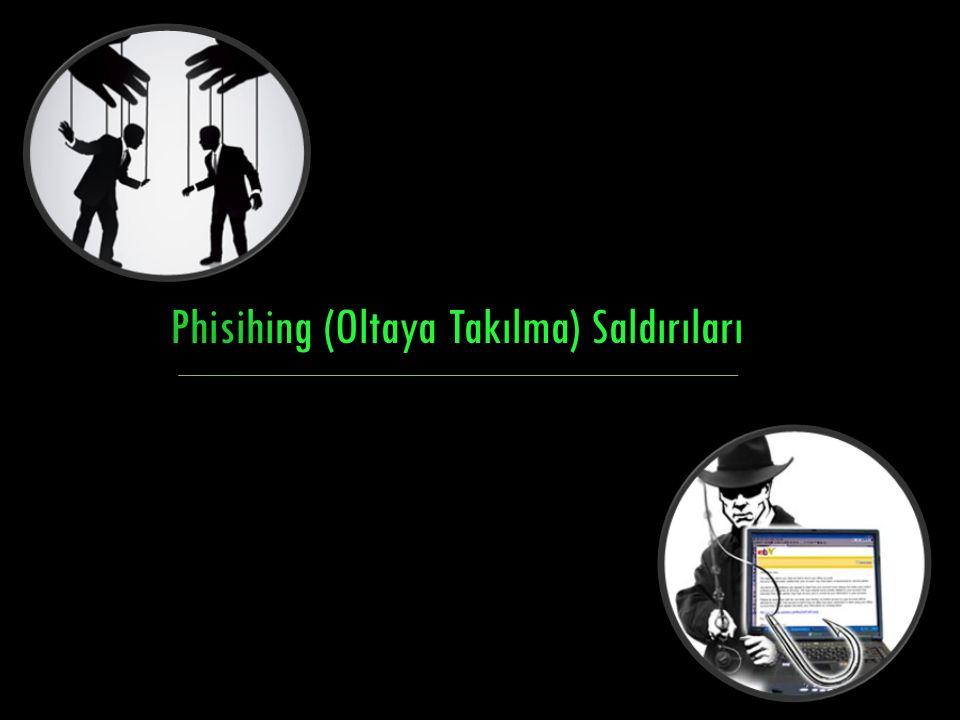 Phisihing (Oltaya Takılma) Saldırıları
