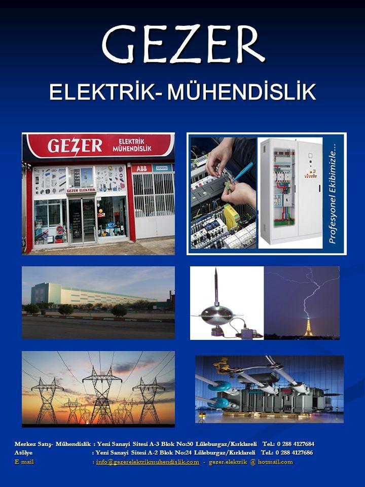 GEZER ELEKTRİK- MÜHENDİSLİK