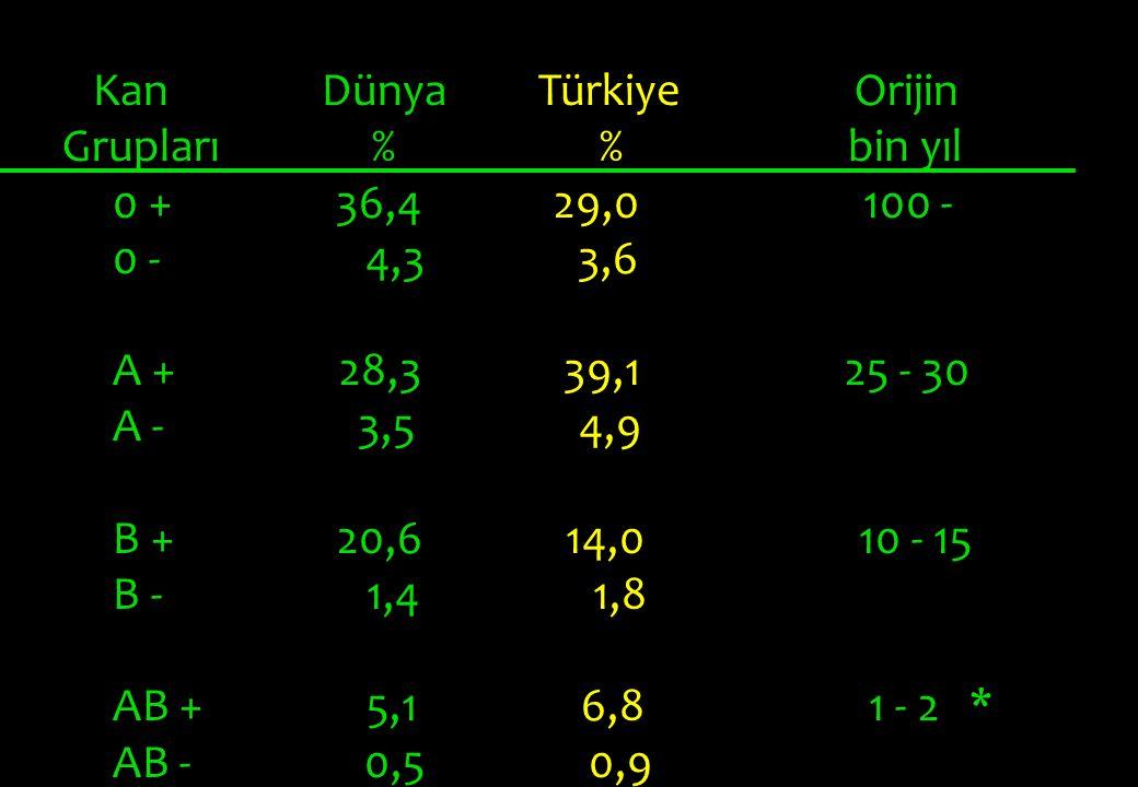 Kan Dünya Türkiye Orijin