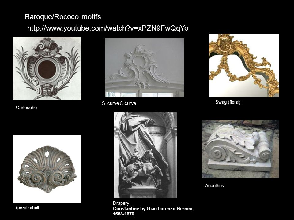 Baroque/Rococo motifs