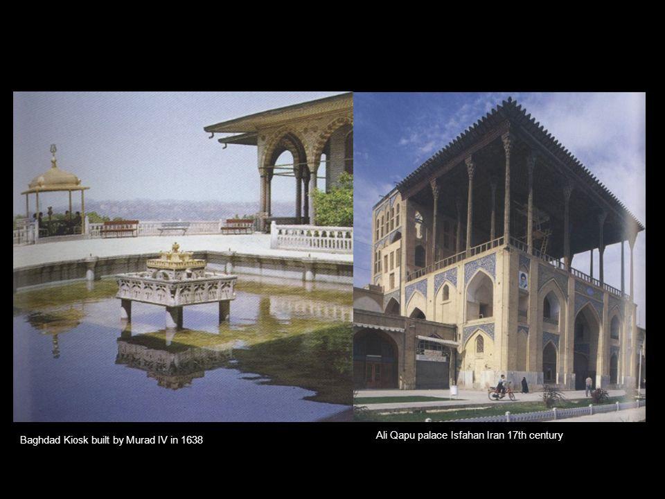 Ali Qapu palace Isfahan Iran 17th century