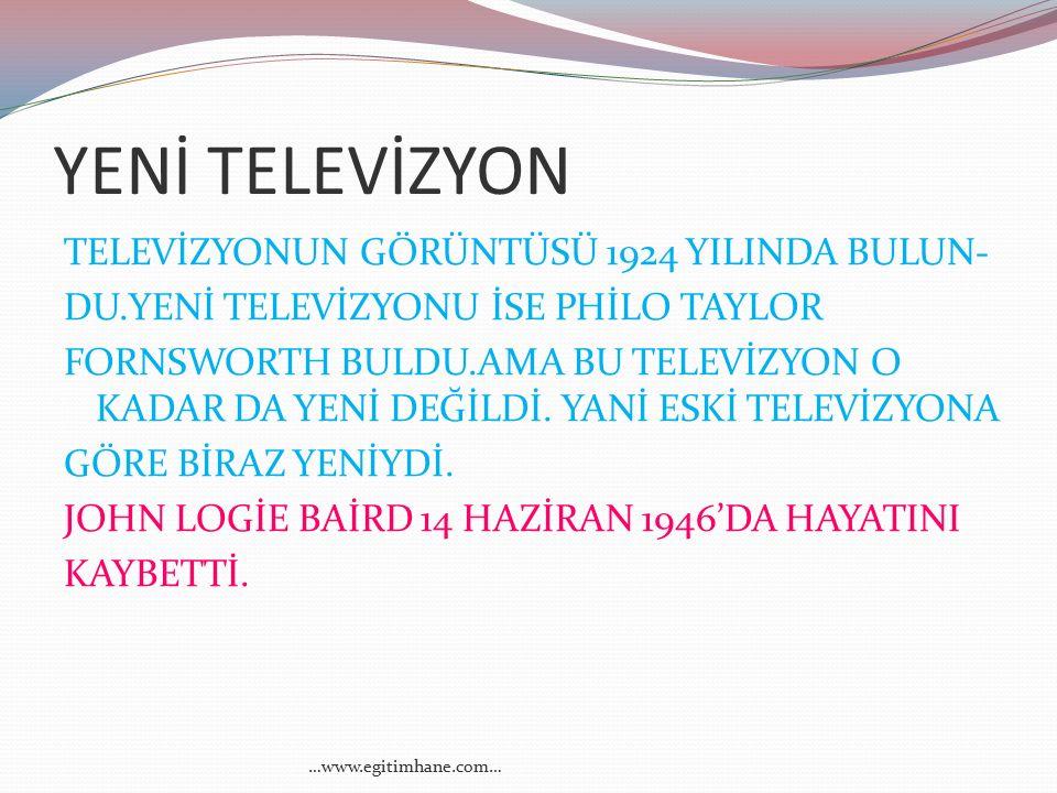 YENİ TELEVİZYON