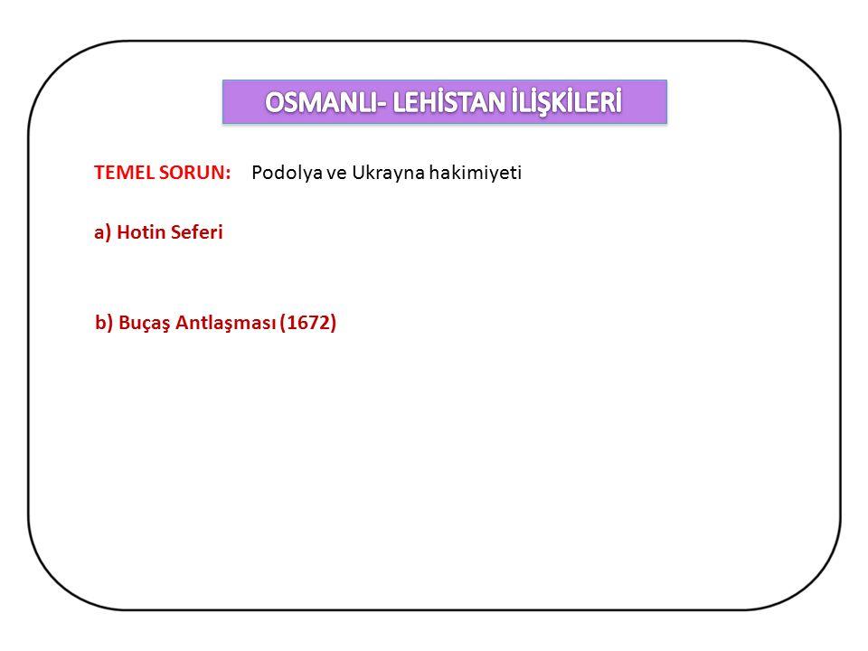 OSMANLI- LEHİSTAN İLİŞKİLERİ