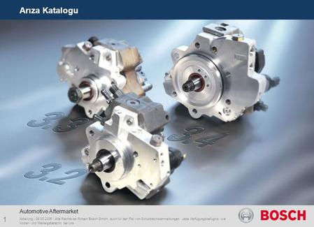 Arıza Katalogu Automotive Aftermarket