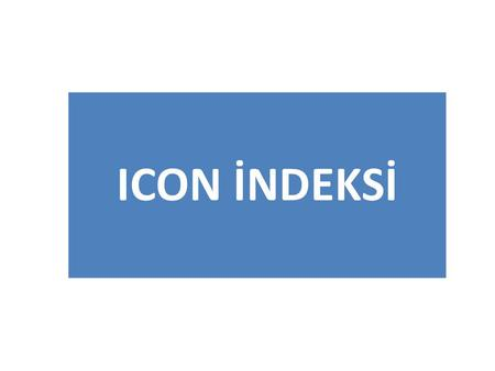 ICON İNDEKSİ.