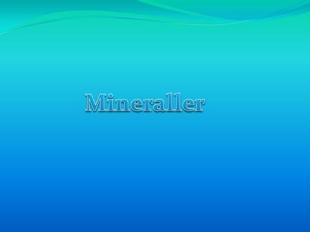 Stavropol Bölgesi: mineraller. Doğal Kaynaklar 89