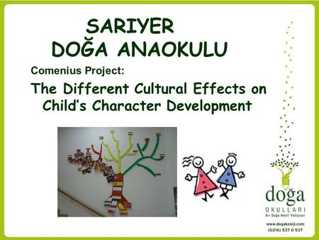 The Different Cultural Effects on Child's Character Development