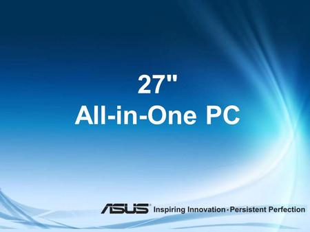 27 All-in-One PC.