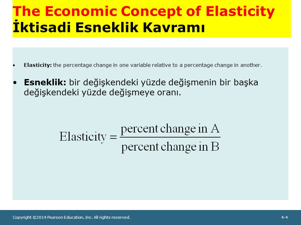 economics elasticity concepts In economics, elasticity is the measurement of how an economic variable responds to a change in another it gives answers to questions such as: if i lower the price of a product, how much more will sell if i raise the price of one good, how will that affect sales of this other good.