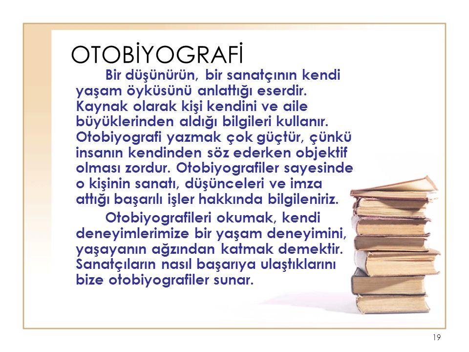 Bir Otobiyografinin Doğru Yazımı Hakkında