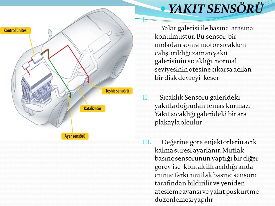 Soğutma sıvısı sıcaklık sensörü nasıl çalışır