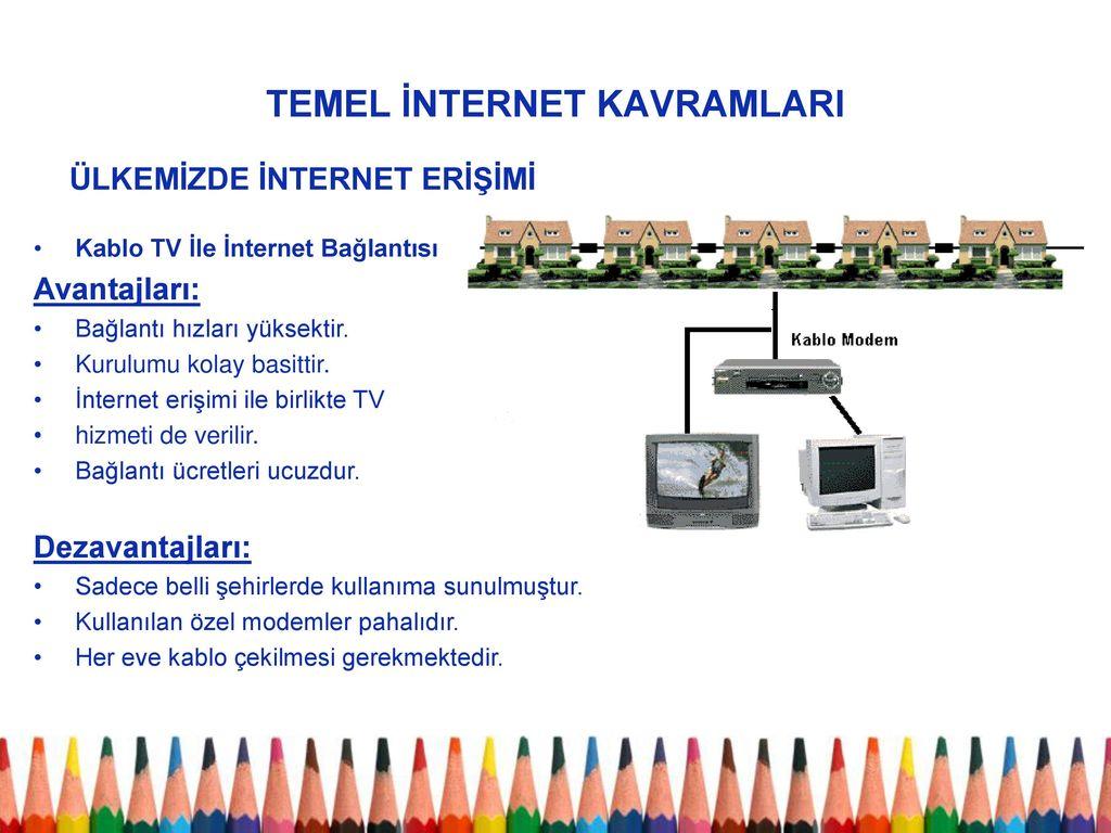 Ethernet nedir - İnternet ağının temel avantajları