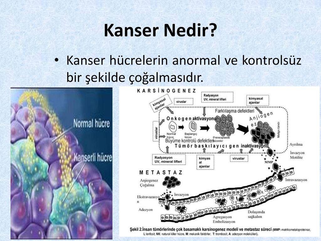 Anormal hücreler üzerine yayma