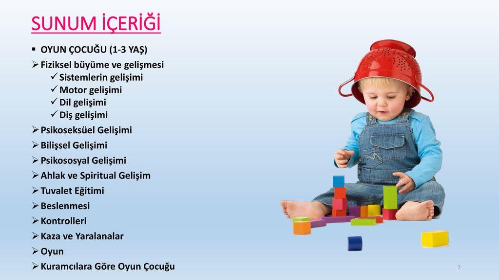 Okulöncesi çocuklarının yaş özellikleri: Çocuğun büyüme ve gelişimi