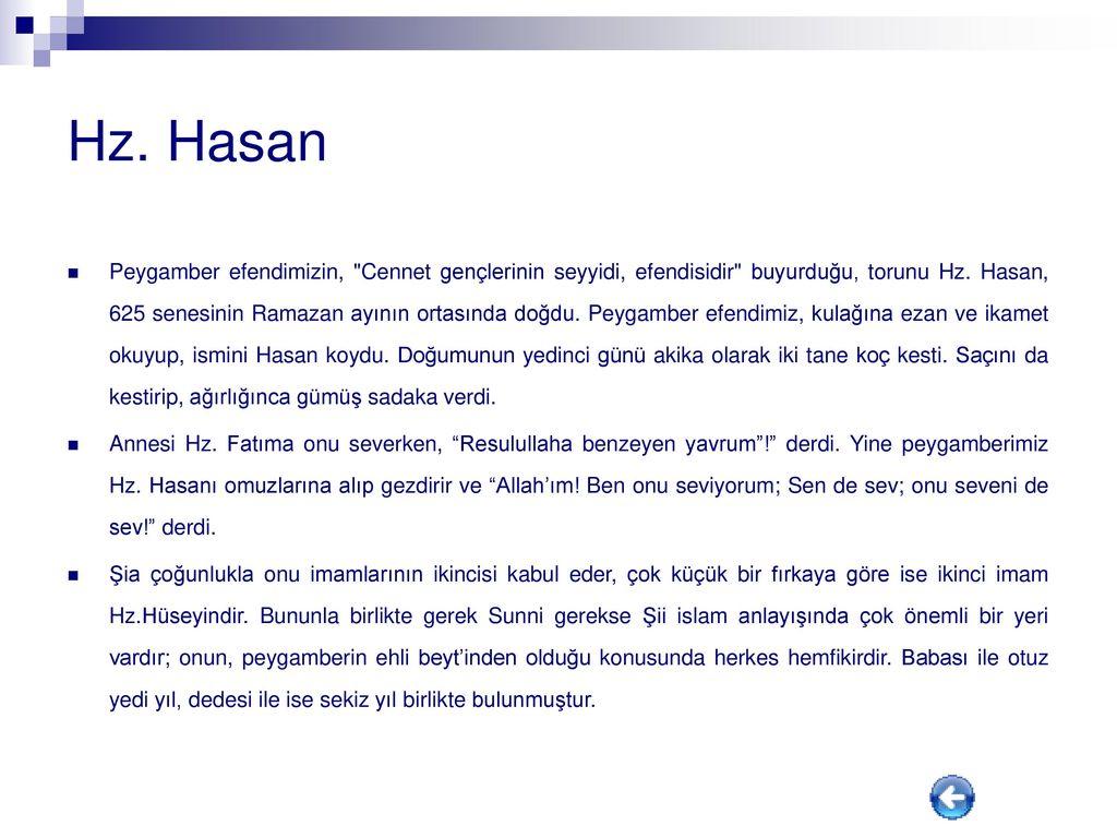 Rüyada Hz. Hamza'yı Görmek İslami Tabiri