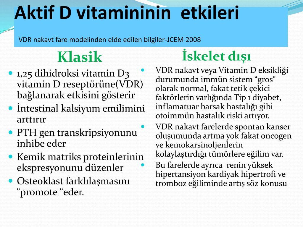 Bütün Yönleriyle D Vitamini